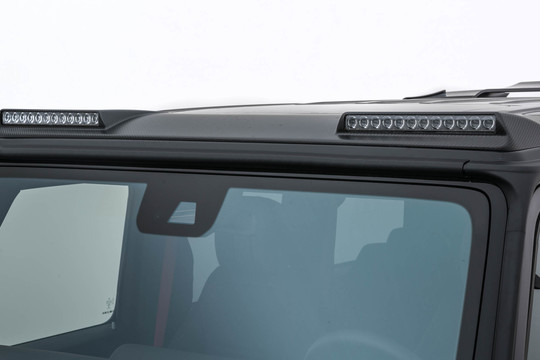 Carbon roof attachment