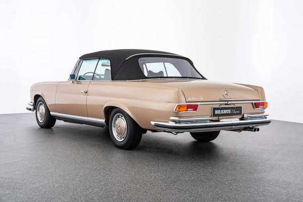 Mercedes-benz 280 se cabrio beige 1967