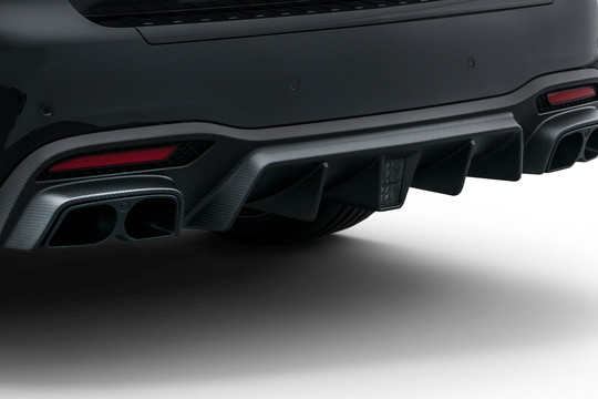 carbon rear diffuser matt