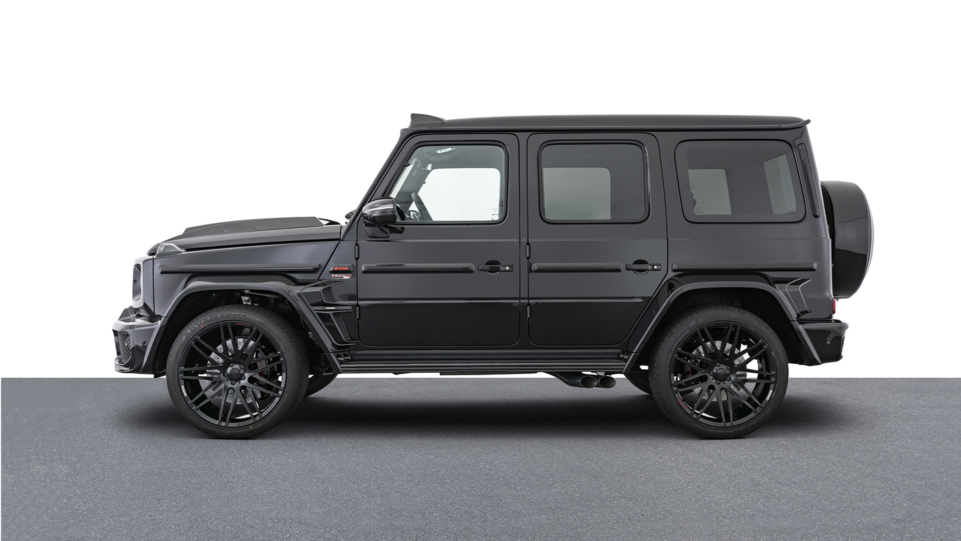 "BRABUS 800 LIMITED EDITION BLACK OPS -  ""1 OF 10"""