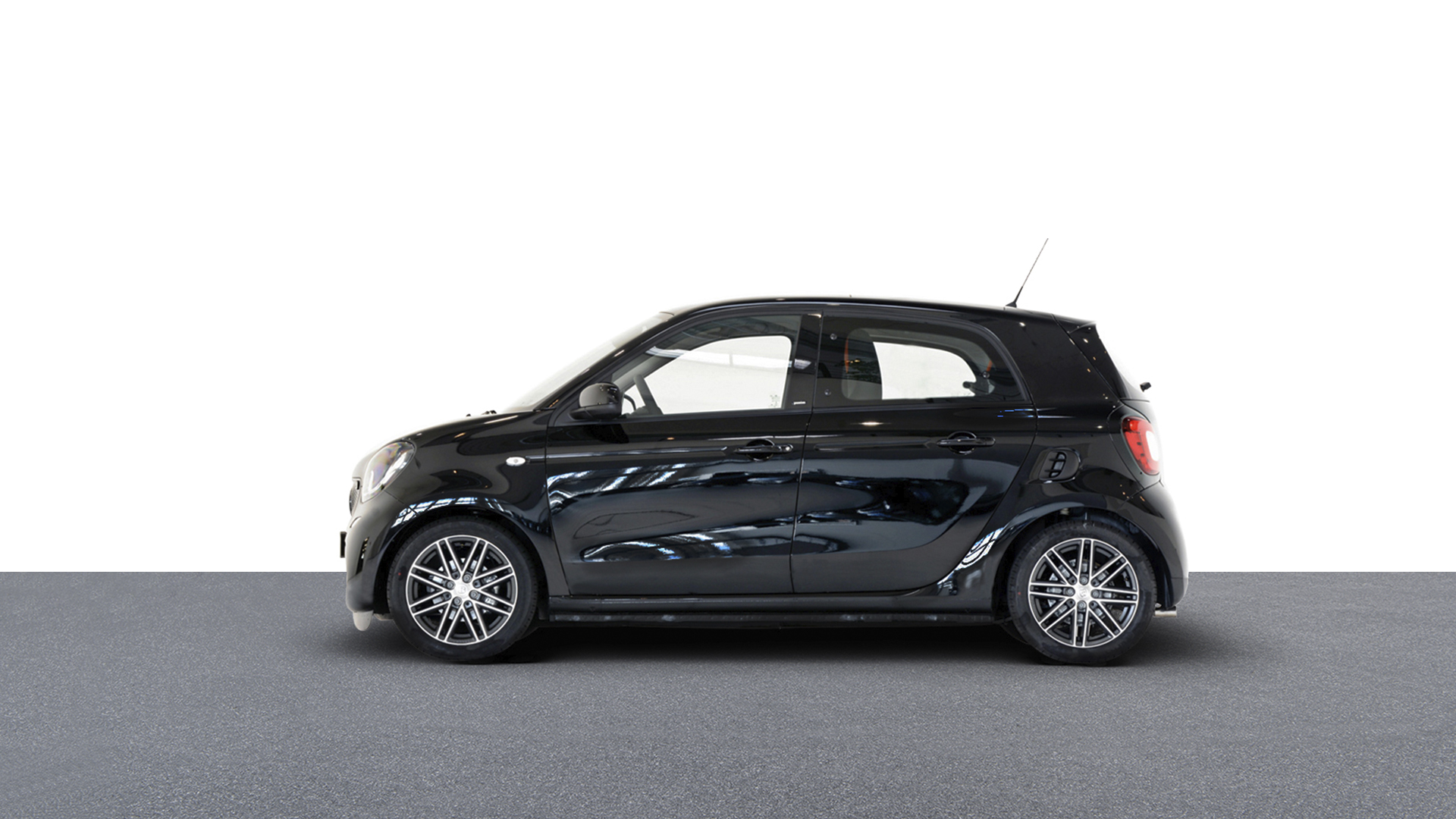 smart forfour passion turbo