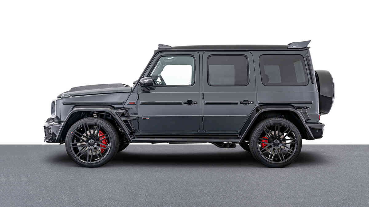 "BRABUS 800 SHADOW LIMITED EDITION - ""1 OF 10"""