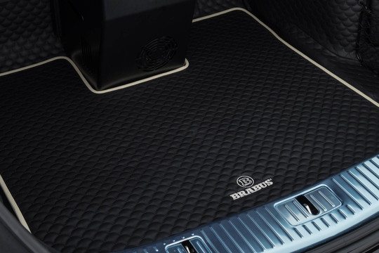 leather trunk mat