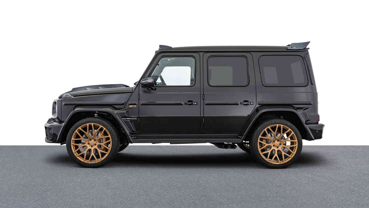 BRABUS 800 BLACK & GOLD Edition