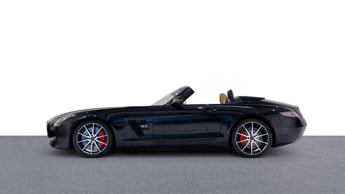 Mercedes-Benz SLS AMG Roadster GT