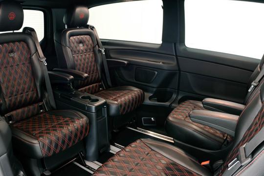 BRABUS fine leather / Alcantara Innenausstattung