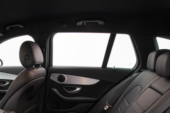 Leather / Alcantara headliner