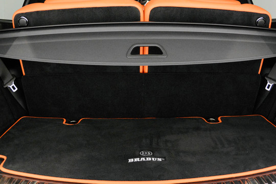 Velour trunk mat small