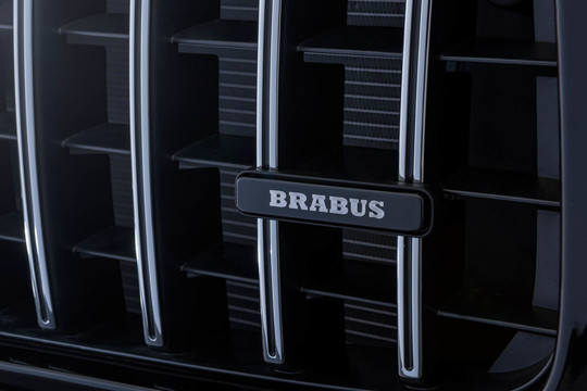 BRABUS emblem on radiator grille
