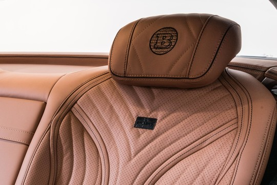 Leather headrests