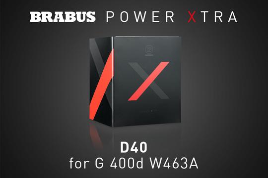 PowerXtra D40 - G 400d