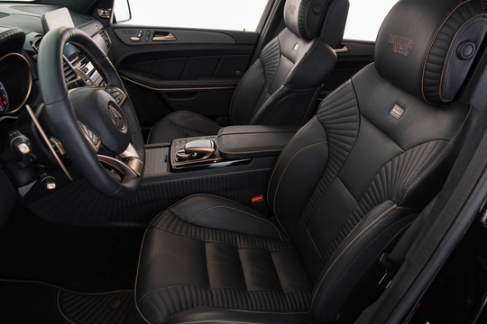 Leather interior