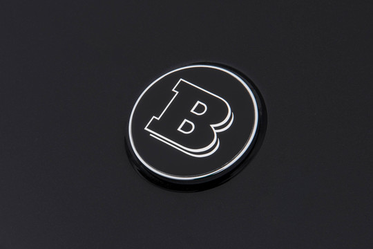 BRABUS hood emblem