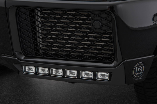 Front fascia attachment incl. daytime running lights bright with turn signal function