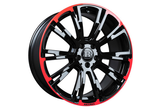 Monoblock R Red Black