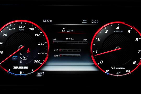 BRABUS speedometer 186 mph