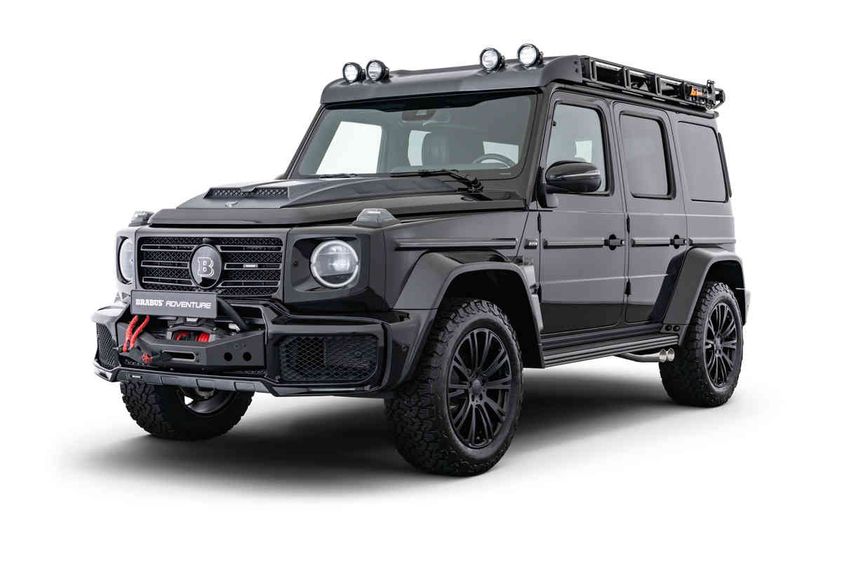 Brabus Adventure Package For The Mercedes Benz G Class News Events Brabus