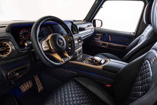BRABUS Black & Gold Style Interior