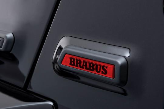 BRABUS emblem A-pillar red