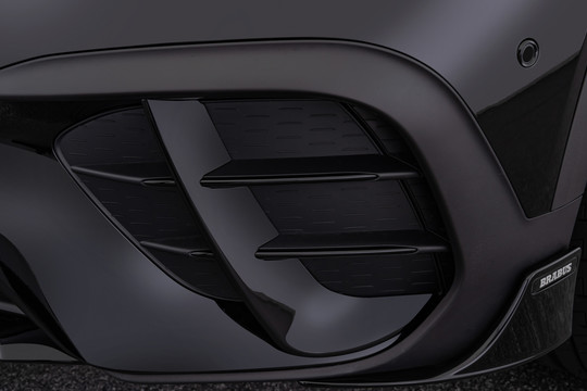 Front fascia inlays