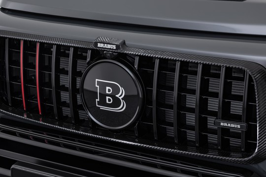 Carbon radiator grill attachment