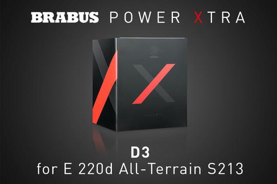 PowerXtra D3 – E220d All-Terrain