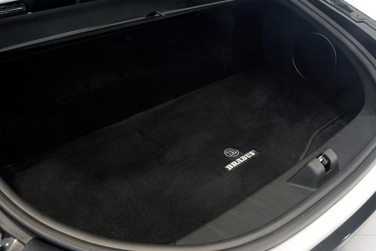 Velour trunk mat