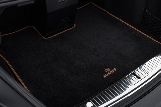 Velour trunk mat