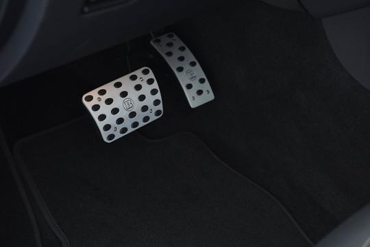 Aluminum pedal pads