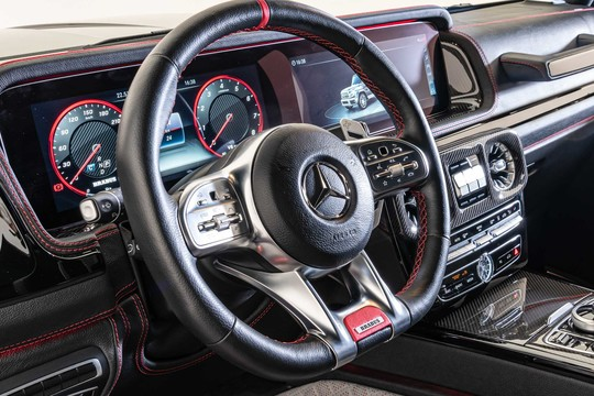 Steering wheel airbag to be covered in leather