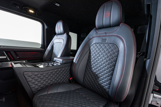 BRABUS Bucket seat system with middle console