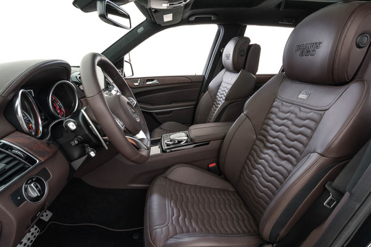 Leather front seats