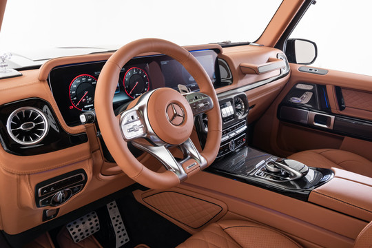 Completion Package: Leather Steering Wheel & Dashboard