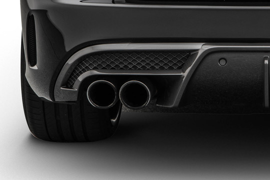 Sport exhaust system 4-cylinder petrol