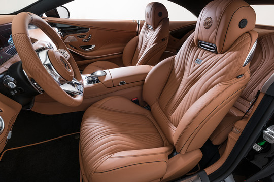Leather front seat covers