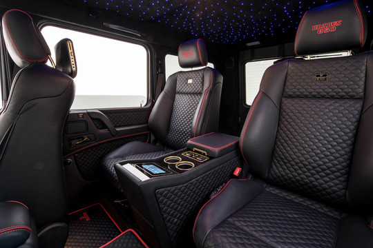 Bucket seat system with business console